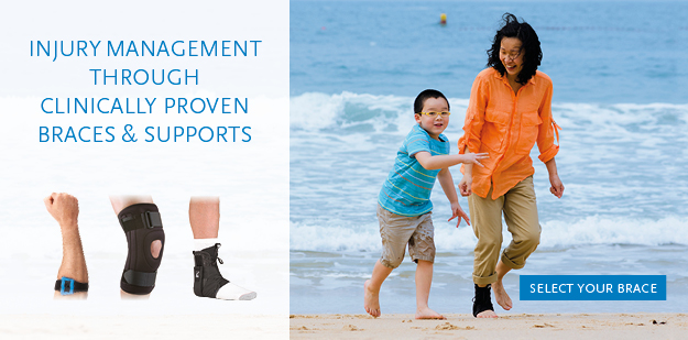 Physiotherapy Braces and Supports